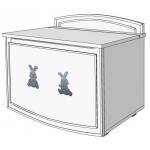 Glamour Bunny Ящик для игрушек ваниль