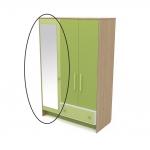 Зеркало к шкафу Акварели зеленый