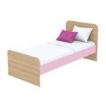 Кровать Кв Акварели розовый