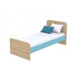 Кровать Кв Акварели бирюзовый