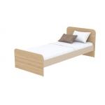 Кровать Кв Акварели коричневый