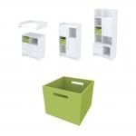Ящик для хранения Акварели зеленый