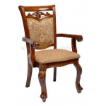 Купить деревянные стулья Daming Кресло Nicolas Classic 8001 ножки 8019, обивка Q