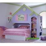 Кровать двухъярусная Замок