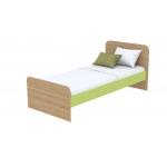 Кровать Кв Акварели зеленый