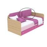 Мягкая накладка к диванчику Кв Акварели розовый