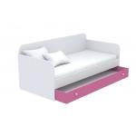 Ниша выдвижная к диванчику большая Кв Акварели розовый