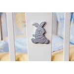 Glamour Bunny Кровать-качалка ваниль