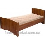 Кровать односпальная (без матраса) Нега эконом