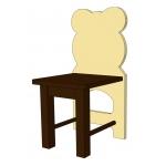 Funny Bears  Стульчик детский беж/коричневый