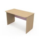 Письменный стол Акварели розовый