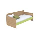 Кровать-диванчик Кв Акварели зеленый