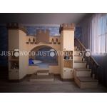 Кровать двухъярусная Золушка 2