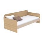 Кровать-диванчик Кв Акварели коричневый