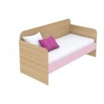 Кровать-диванчик Кв Акварели розовый