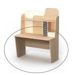 Письменный стол М-08-1