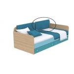 Мягкая накладка к диванчику Кв Акварели бирюзовый