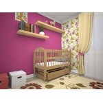 Детская кровать-люлька Каприз