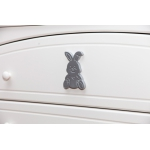 Glamour Bunny Комод широкий с пеленатором
