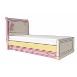 ROSE DREAMS Кровать подростковая