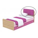 Мягкая накладка на кровать Кв Акварели розовый