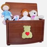 Funny Bears Ящик для игрушек черешня