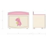 ROSE DREAMS Ящик для игрушек