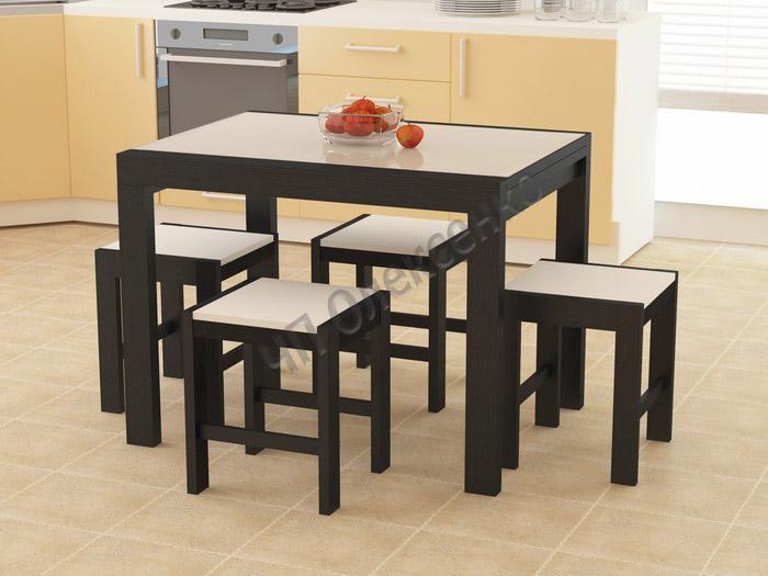 Кухонные столы и стулья фото цены